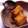 Добавьте к тофу соус