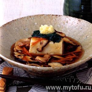 Тофу в пикантном соусе - анкаке-дофу